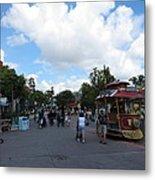 Disneyland Park Anaheim - 121231 Metal Print