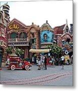 Disneyland Park Anaheim - 121232 Metal Print