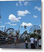 Disneyland Park Anaheim - 121235 Metal Print