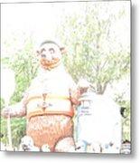 Disneyland Park Anaheim - 121245 Metal Print