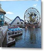 Disneyland Park Anaheim - 121253 Metal Print