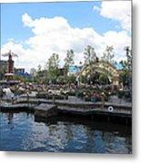 Disneyland Park Anaheim - 121255 Metal Print