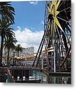 Disneyland Park Anaheim - 121257 Metal Print