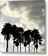Disney's Epcot Palm Trees Metal Print