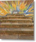Display Hall At Apollo Sanctuary  Metal Print