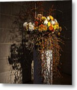 Displaying Mother Nature's Autumn Abundance Of Flowers And Colors Metal Print