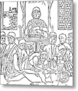 Dissection Lesson, 1493 Metal Print