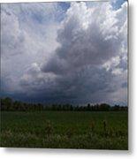 Distant Storm Metal Print