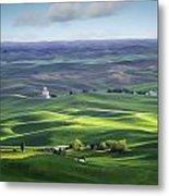 Distant Vista From Steptoe Butte Metal Print