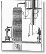 Distillation, 19th Century Metal Print