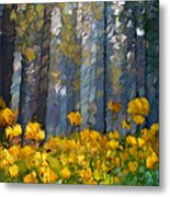 Distorted Dreams By Day Metal Print