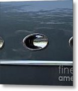 Ditto Abstract Metal Print