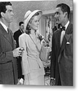 Dive Bomber, From Left, Fred Macmurray Metal Print