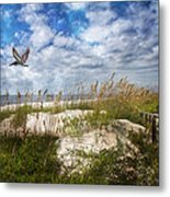 Divine Beach Day  Metal Print