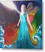 Divine Calling To Fly Metal Print