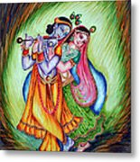 Divine Lovers Metal Print