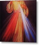 Divine Mercy Big File Metal Print