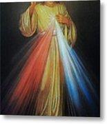 Divine Mercy Jesus Metal Print