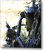 Divine Mother And Child Metal Print