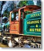 Dixiana Engine 3 Metal Print