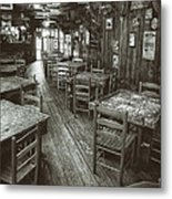 Dixie Chicken Interior Metal Print