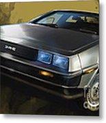 Dmc Sports Car Metal Print