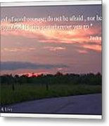 Do Not Be Afraid Metal Print