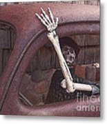 Do Not Drink And Drive Metal Print
