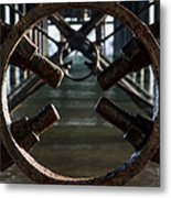 Dock Bolt Metal Print