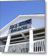 Dock House Restaurant Metal Print