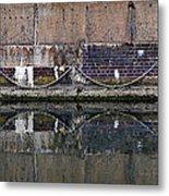 Dock Wall Metal Print by Mark Rogan