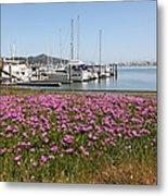 Docks At Sausalito California 5d22695 Metal Print