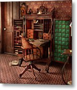 Doctor - Desk - The Physician's Office  Metal Print