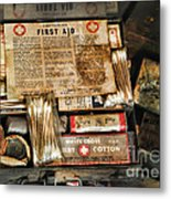 Doctor - The First Aid Kit Metal Print