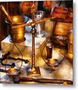 Doctor - The Medical Trade Metal Print