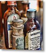 Doctor The Mercurochrome Bottle Metal Print by Paul Ward