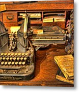 Doctor - The Physician's Desk II Metal Print by Lee Dos Santos