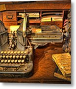 Doctor - The Physician's Desk  Metal Print