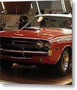 Dodge 1971 Challenger R/t Metal Print