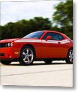 Dodge Challenger Metal Print