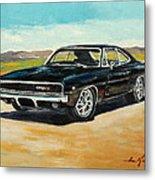 Dodge Charger Rt 1970 Metal Print