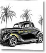Dodge Coupe Metal Print