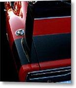 Dodge Daytona Fin Metal Print