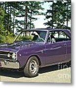Dodge Gts- Trees Metal Print