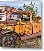 Dodge Power Wagon Wrecker Metal Print