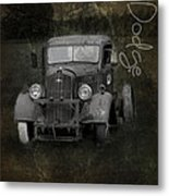 Dodge Take Life By The Horns Metal Print