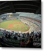 Dodger Stadium Metal Print by Micah May