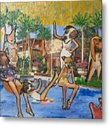 Dog Days Of Summer Metal Print