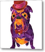 Dog Gentleman Metal Print