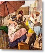 Dog Groomers, 1820 Metal Print